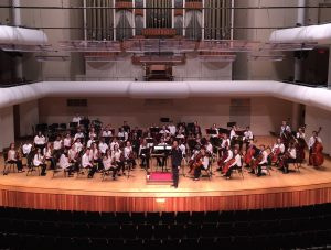 Tuscaloosa Youth Orchestra in the Moody Music Building Concert Hall